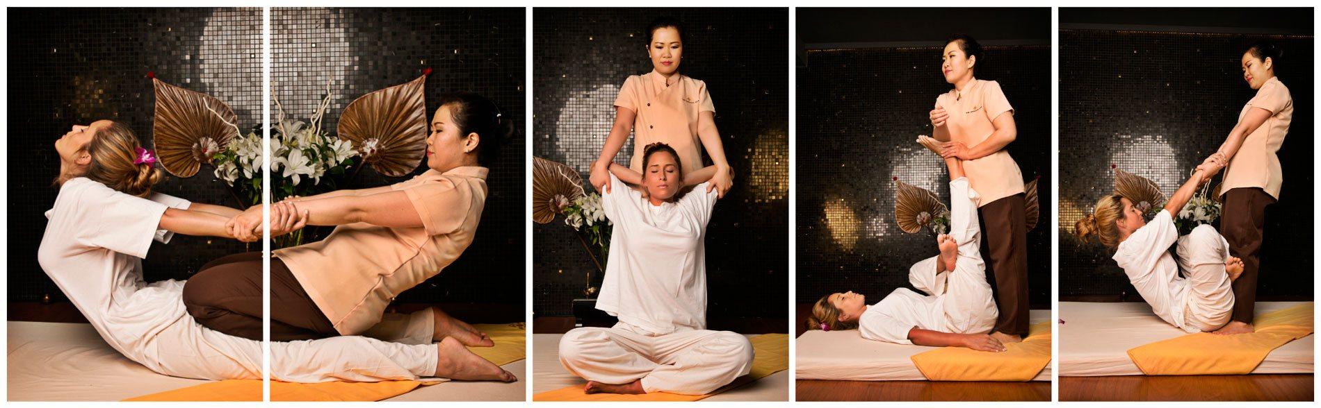Indicaciones del masaje tailandes